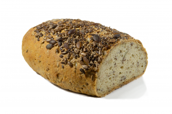 Glutenfreies helles Kasten Sesam
